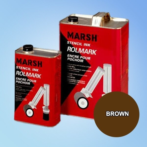 Get Marsh Rolmark Brown Ink X20917-BROWN at Harmony