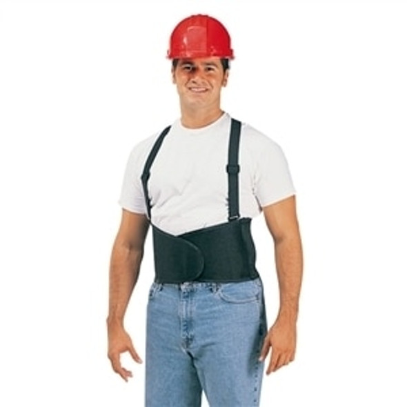 Durawear Hi Vis Back Support Belt with Adjutable Suspenders, Orange, each