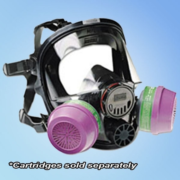 Get Honeywell North 7600 Series Full-Face Respirator Mask, Ea LAG-760008A at Harmony