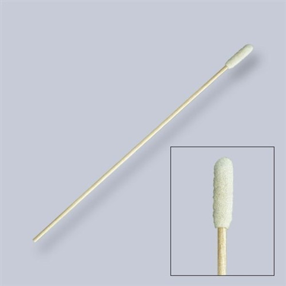 "Get Puritan Foam Swab, Cylindrical Tip, 6"", Wood Shaft 1806-WF at Harmony"
