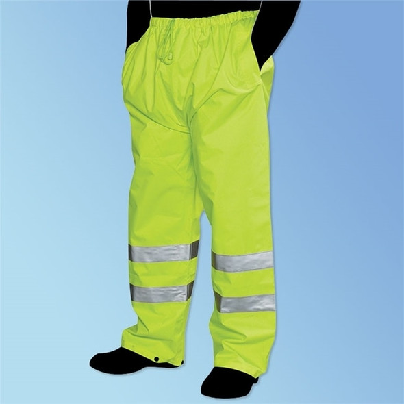 Get HivizGard Class E Rain Pants, Lime Green, ea LB16920G at Harmony