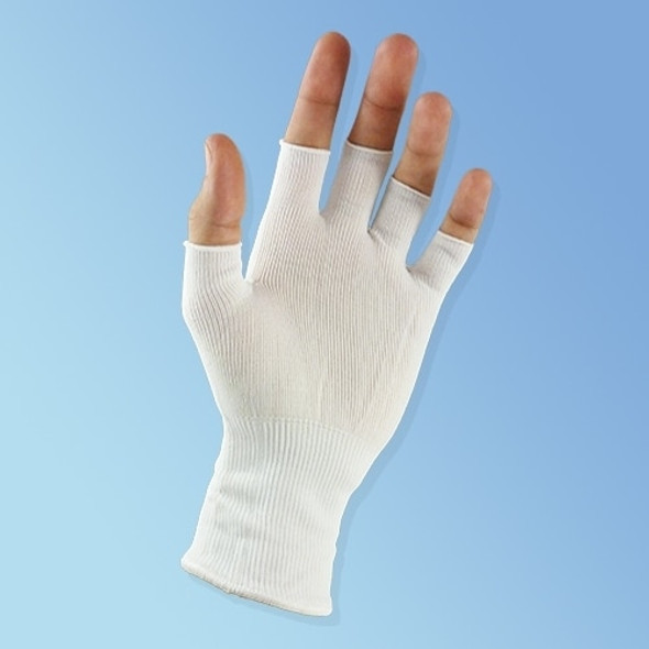 Get Sure-Knit Lint Free Nylon Glove Liners, Half Finger, 12 pairs/pack SSTN120HF at Harmony