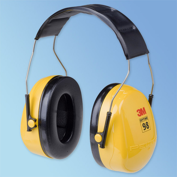 Get Peltor Optime 98 Headband Earmuffs H9A, 25 NRR, ea BOCS1440 at Harmony