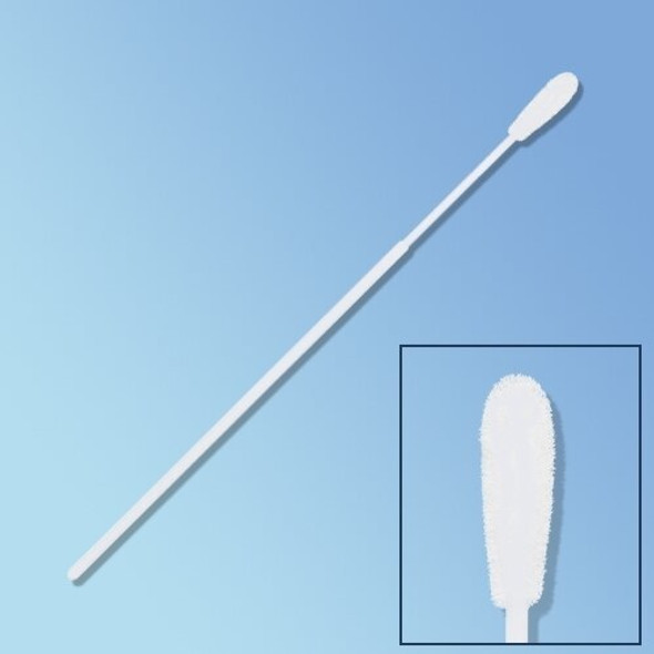 "Get Sterile PurFlock Ultra Flocked Swab, Elongated Tip, 6"", Polystyrene Shaft 25-3606-U at Harmony"