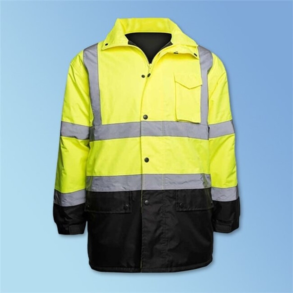 Get HivizGard Class 3 Parka, Lime Green, ea LB16727GB at Harmony