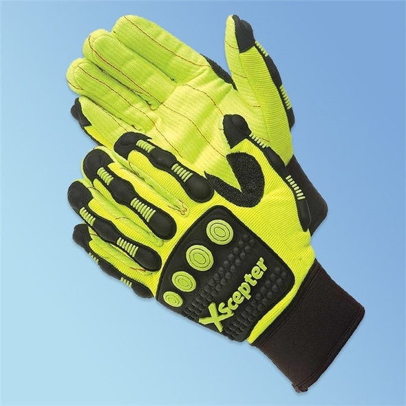 Get DayBreaker XScepter Anti Impact Gloves, Cotton Cord Palm, 1 pair LIB0928 at Harmony