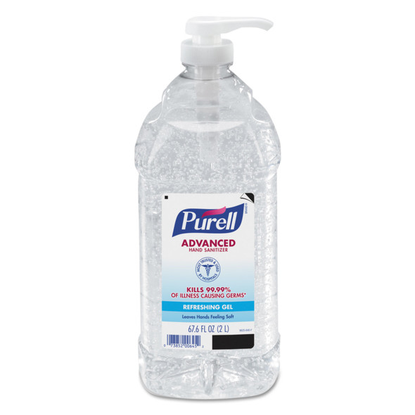 Get Purell Hand Sanitizer Economy Size, 2 Liter Bottle, 4/case X962504 at Harmony