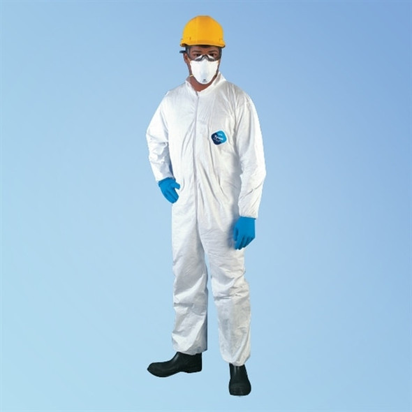 Get Tyvek TY125S Coveralls with elastic wrist & ankle, 25/cs TY125S at Harmony
