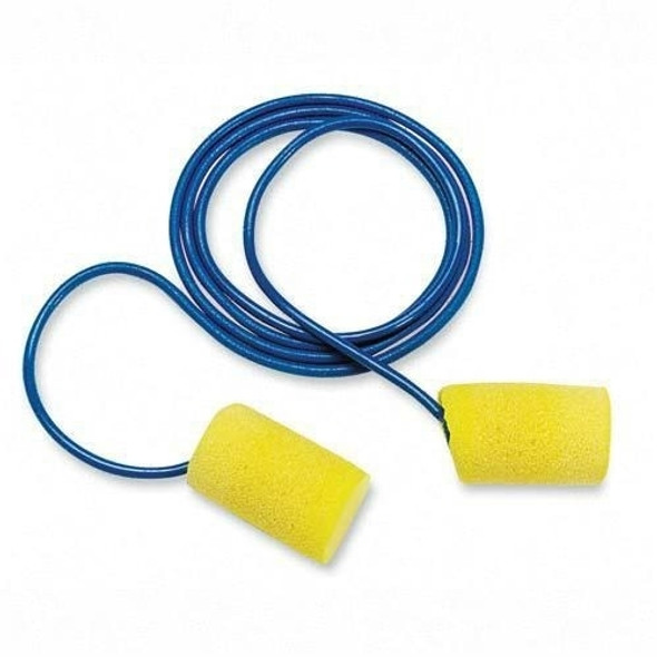 Get 3M E-A-R Classic Earplugs, 29 NRR, Corded, 200/PK S3111101 at Harmony