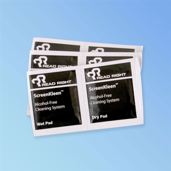 Get ReadRight LCD ScreenKleen Wet/Dry Wipes, 40 Sets RR1391 at Harmony