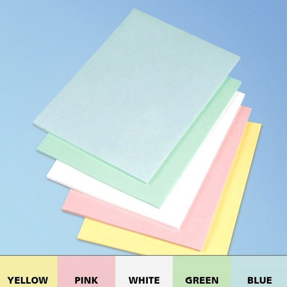 "Get Cleanroom Paper, 8.5"" x 11"", 5 Colors TPAP811 at Harmony"
