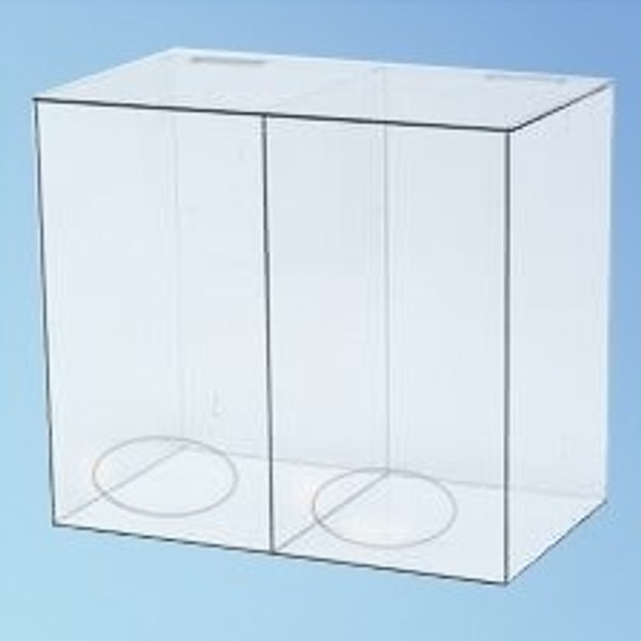 Two Compartment Dispenser, 20 in., each