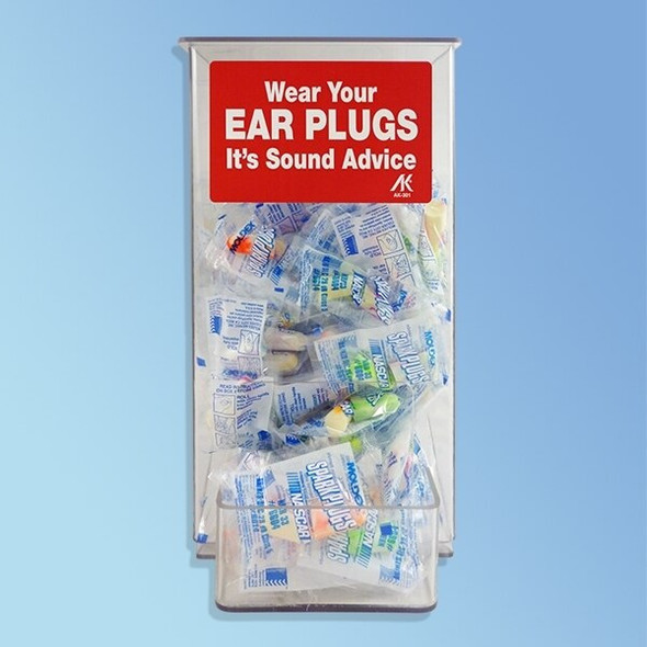Get Ear Plug Dispenser, ea 1 XAK301-DD at Harmony