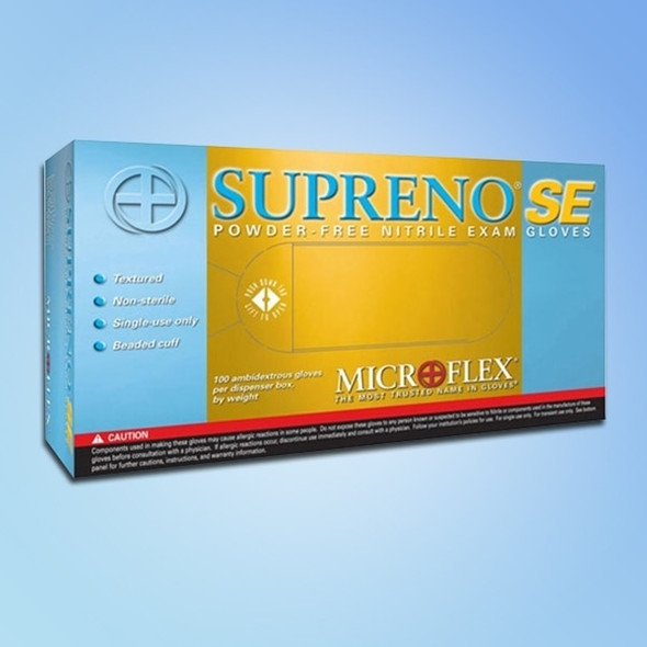 Get Microflex Supreno 4.3 mil Nitrile Exam Glove, Powder Free, 1000/case XSU690 at Harmony