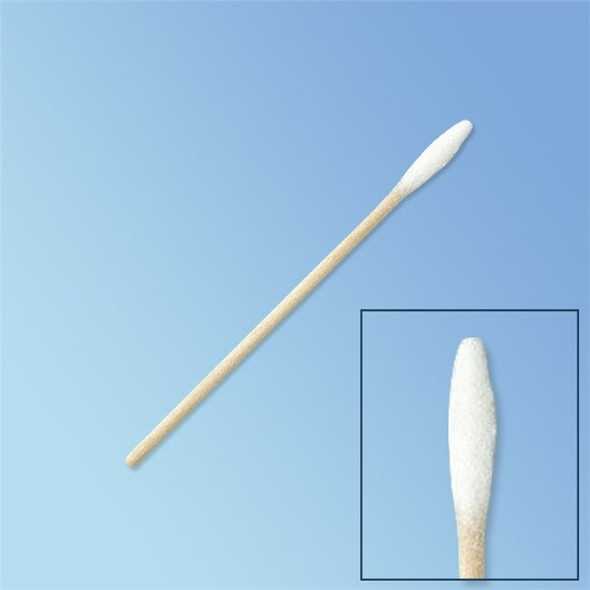 "Get Puritan Mini Tapered Tip Cotton Swab, 3"" Wood Shaft 823-WC at Harmony"