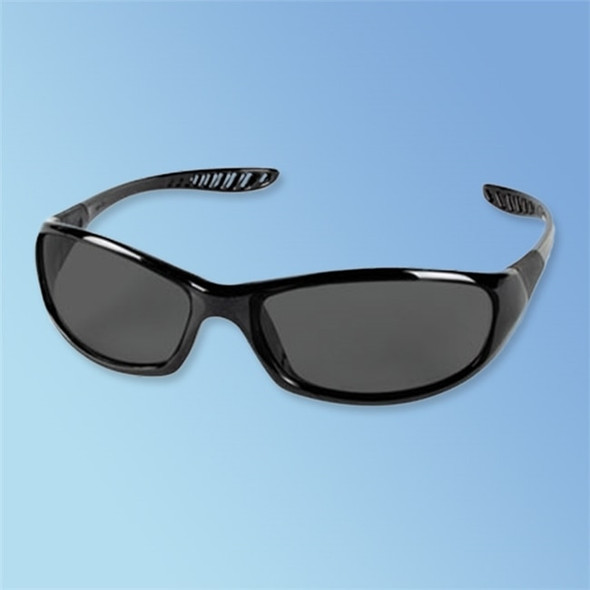 Get Jackson Safety V40 HellRaiser Safety Glasses, Smoke Lens, Black Frame, ea LJAK25714 at Harmony