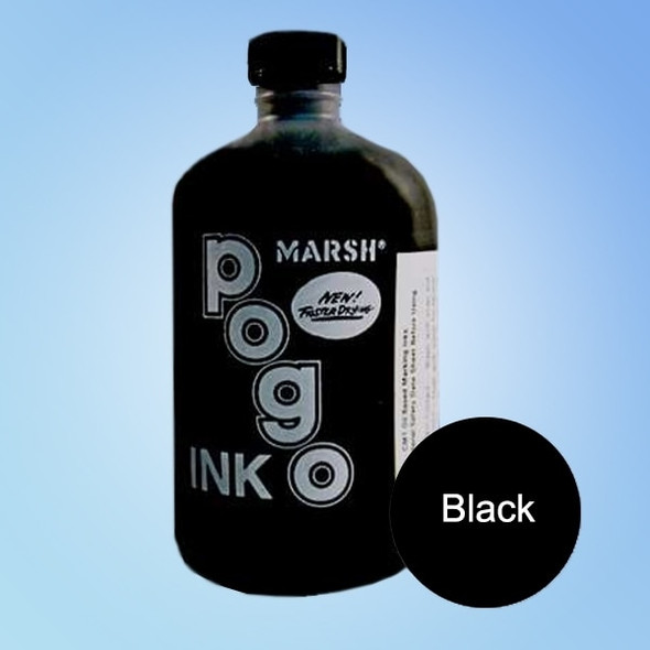 Get Marsh Black Pogo Printer Ink, pint XCM1BKP at Harmony