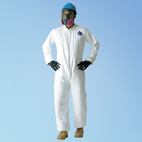 Get Tyvek TY120S Coveralls with open wrist & ankle, 25/cs TY120S at Harmony