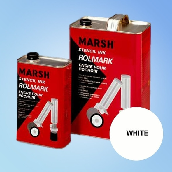 Get Marsh Rolmark White Ink X20923-WHITE at Harmony