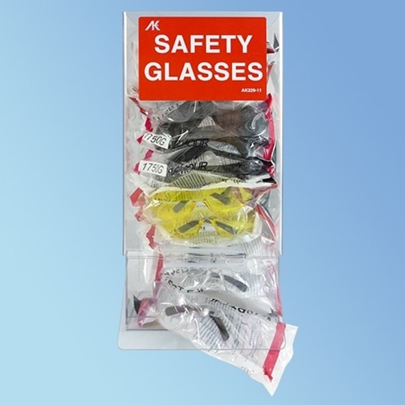Get Safety Glasses Dispenser, ea XAK229-11 at Harmony