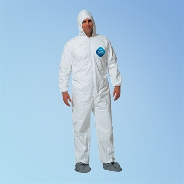 Get Tyvek TY122S Coveralls with hood & boot, 25/cs TY122S at Harmony