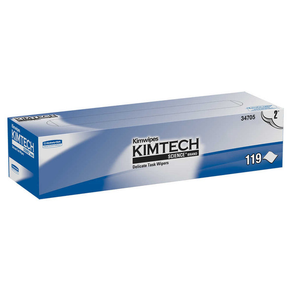 "Get Kimtech 2-Ply Science Wipes, 11.8 x 11.8"", Box L34705 at Harmony"