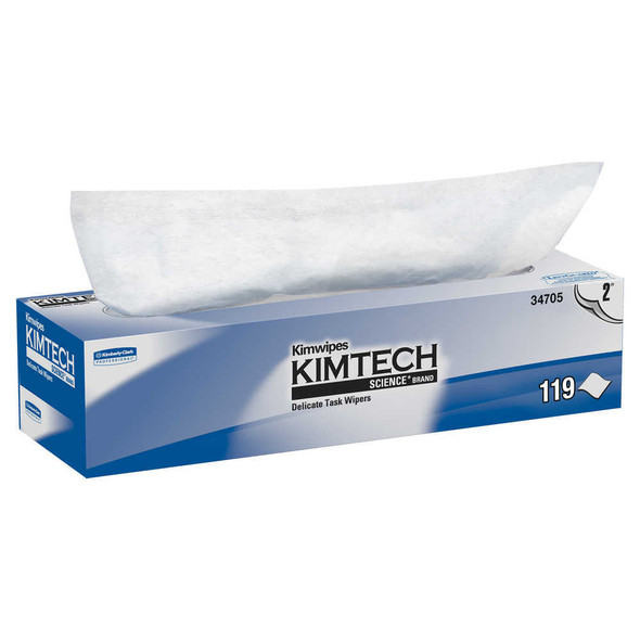 KimTech 2-Ply Delicate Task Wipes Dispenser Box
