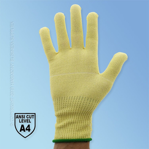 Get ANSI A4 ATA/Lycra String Knit Gloves, 12 pairs LIB4987 at Harmony