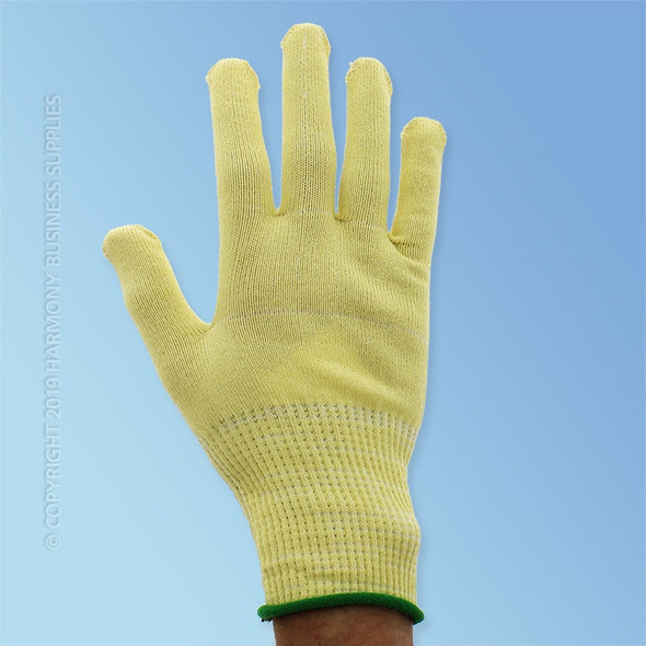 ANSI A4 Cut Resistant String Knit Gloves