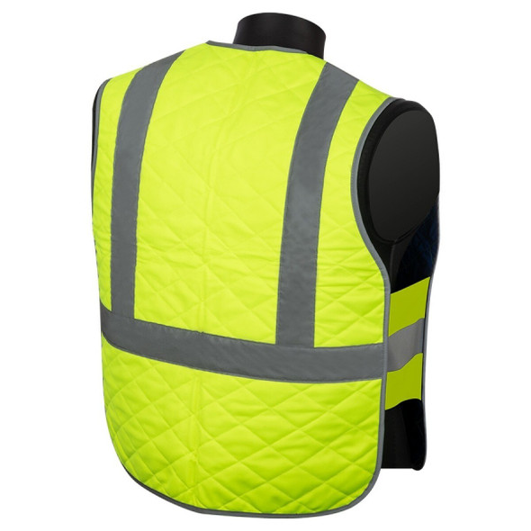 Get Hivizgard C16006GC Cooling Vest, Class 2, Lime Green at Harmony