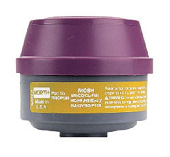 Get Honeywell North 75SCP100 Defender Multi-Purpose Cartridge & P100 Filter, 1 pair at Harmony