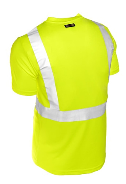 Get ML Kishigo 9110 Class 2 Microfiber Safety T-Shirt, Short Sleeves, Lime Green at Harmony Business Supplies