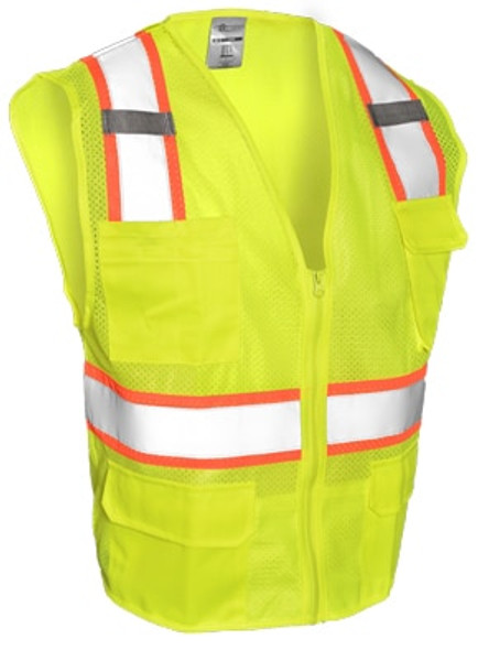 Get ML Kishigo 1195 Class 2 Mesh Contrast Safety Vest at Harmony