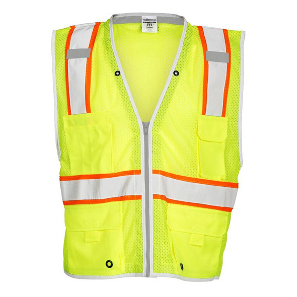 Get ML Kishigo 1510 Premium Brilliant Series Heavy Duty Mesh Safety Vests at Harmony