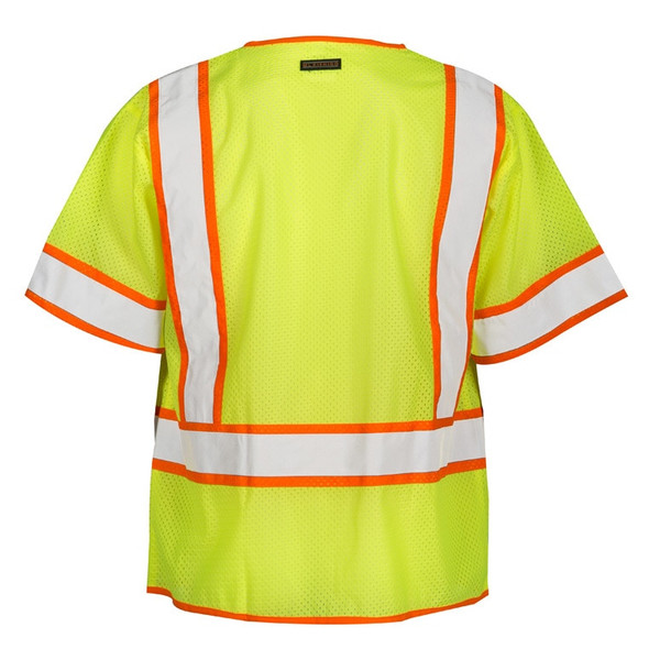 Get ML Kishigo 1242 Class 3 Multi-Pocket Contrast Mesh Safety Vest at Harmony
