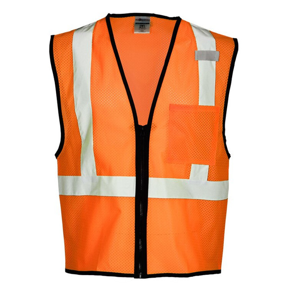 Get ML Kishigo 1520 Class 2 Mesh Safety Vest, Orange, at Harmony.