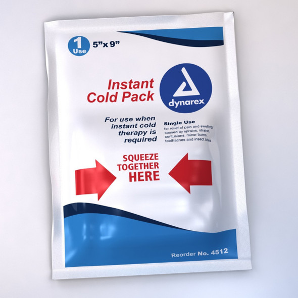 """Get Cold Packs, 5"""" x 9"""", Dynarex 4512 at Harmony"""