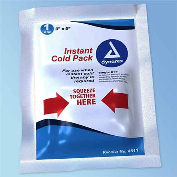 "Get Instant Cold Packs, 4"" x 5"", Dynarex 4511 at Harmony"
