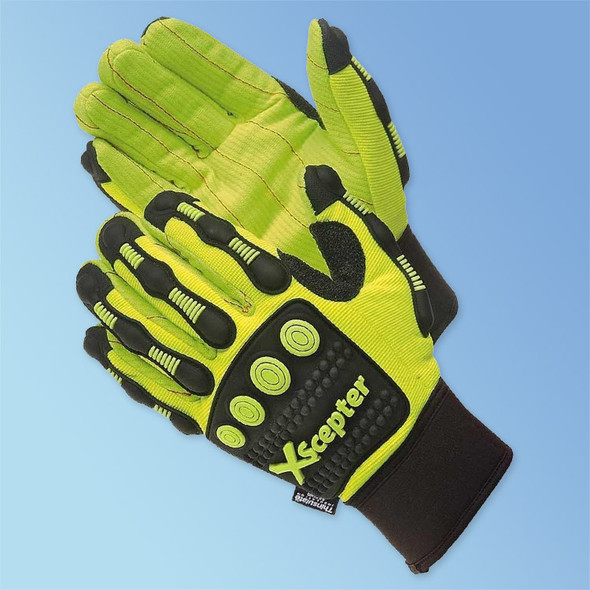DayBreaker XScepter Anti Impact Gloves, Cotton Cord Palm, 3M Thinsulate Lined