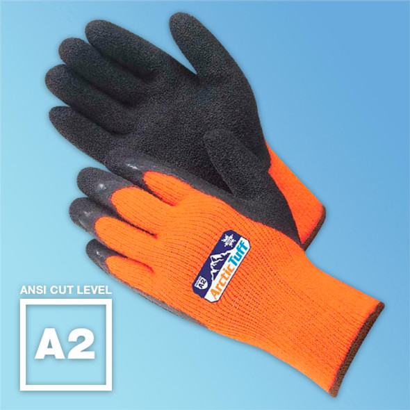 Artic Tuff Foam Latex Coated ANSI A2 Gloves at Harmony