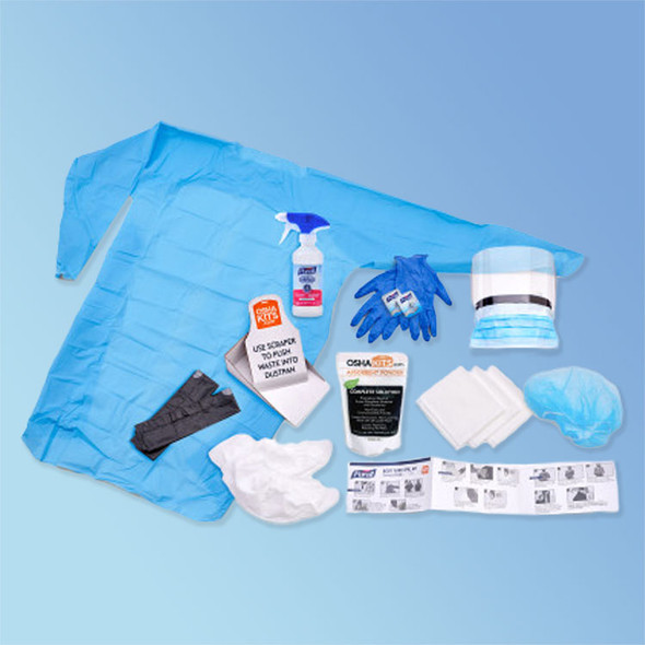 Get Purell Disinfgecting Body Spill Kit, 3841-08-CLMS with Purell Foodservice Surface Sanitzer