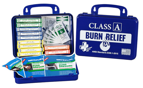 Save on Certified Safety MFG Class A Burn Relief Kit, ea K616-017 at Harmony