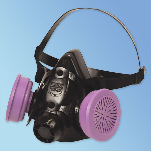 Get Honeywell North 7700 Half Mask Respirator with P100 Filters  at Harmony