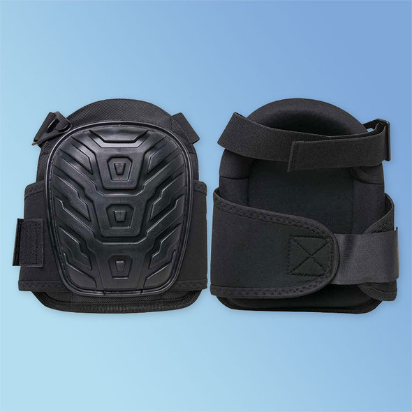 Get DuraWear Premium Oversized Knee Pads, PE Gel, Turtleback Non-Slip Hard Cap, 1/pair (LIB1923) at Harmony