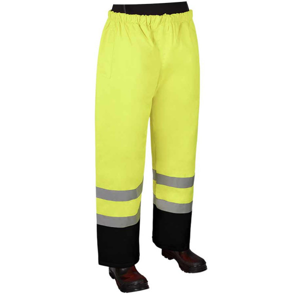 Get HivizGard Class E Rain Pants, Lime Green, each (LB16920GB) at Harmony