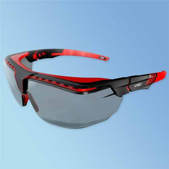 Get Uvex Avatar OTG Over-The-Glasses Safety Glasses, Anti-Fog Gray Lens, ea (S3852) at Harmony