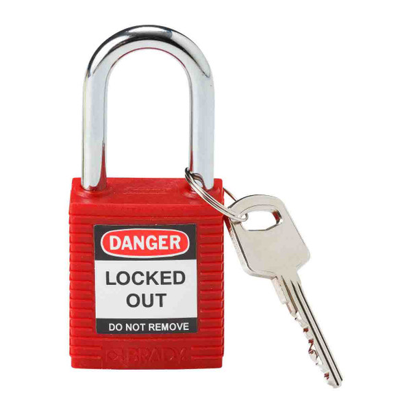 Get Brady Nonconductive Nylon Lockout Padlocks, Keyed Different (99552) at Harmony