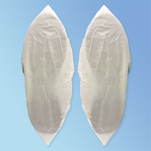 Get Keystone Super-Sticky Polyethylene Coated Shoe Covers, White, 150/pair (HSC-APSS) at Harmony