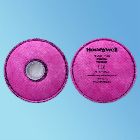 North by Honeywell 75FFP100NL Pancake Style P100 Particulate  Respirator Filter pack at Harmony Lab & Safety Supplies