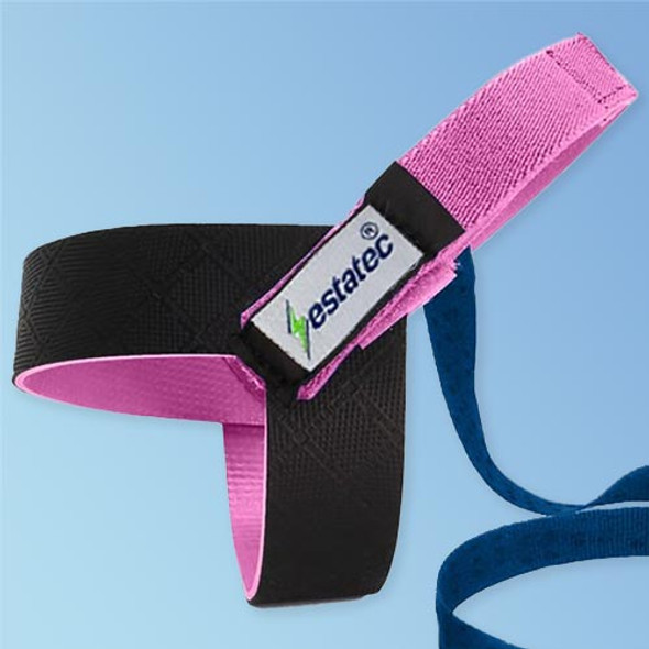 Estaheel Pink Heel ESD Grounding Strap with 1Meg Resister EESD-HEEL, 10/pack, at Harmony